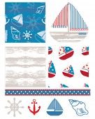 picture of dingy  - Fun nautical themed backgrounds - JPG