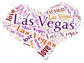 Love heart of  Las Vegas