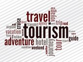 Wordcloud of tourism