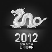 2012 Origami Dragon
