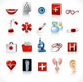 medical icons set 2