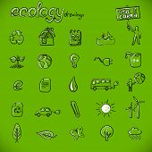 ecology drawings / symbols
