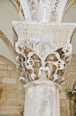 Dubrovnik, Croatia - Rector's Palace - carved capital