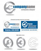 Company Icon Vector.  Use to create your own letterhead, business cards and livery.
