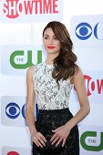 LOS ANGELES - JUL 29:  Emmy Rossum arrives at the CBS, CW, and Showtime 2012 Summer TCA party at Bev