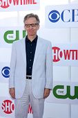 LOS ANGELES - JUL 29:  Robert Joy arrives at the CBS, CW, and Showtime 2012 Summer TCA party at Beve
