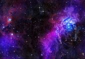great image of stars in deep or outer space