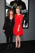 LOS ANGELES - AUG 1:  Frances Fisher, Francesca Eastwood arrives at the