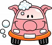 Porco de lavagem de carro
