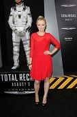 LOS ANGELES - AUG 1: Francesca Eastwood at the Los Angeles Premiere of 'Total Recall' at Grauman's C