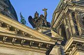 Statue Of Angel On Berliner Dom