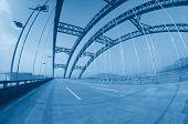Road Through The Bridge