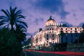The famous El Negresco Hotel in Nice, France