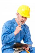 Puzzled contractor