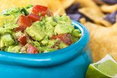 Guacamole Bowl Closeup