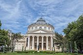 Bucharest, Romania - May 09: The Romanian Athenaeum On May 09, 2013 In Bucharest, Romania. Opened In