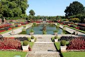 LONDON - SEPTEMBER 9, 2012: Kensington Palace Gardens on September 9, 2012 in London, England.