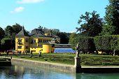 SALZBURG, AUSTRIA - CIRCA SEPTEMBER 2012: Schloss Hellbrunn in Salzburg, Austria in September 2012