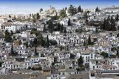 Cidade de Granada, Andaluzia, Espanha