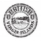 British Virgin Islands rubber stamp