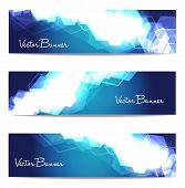 Vector Website Header Or Banner Set. Eps 10.