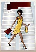 Urban Afro-american Woman