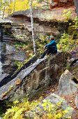Admiring Falls