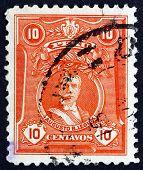 Postage Stamp Peru 1924 Augusto Bernardino Leguia, Politician
