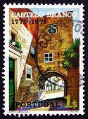 Postage Stamp Portugal 1971 Town Gate, Castelo Branco