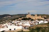 Moorish Castle In Antequera, Spain