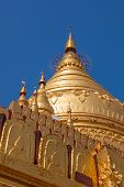 Detail of the Shwezigon Pagoda