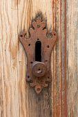 Old Doorlock Detail