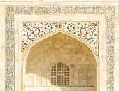 picture of mausoleum  - Taj Mahal building details at agra - JPG