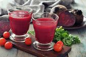 Rote Beete-smoothie