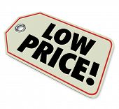 Low Price Tag Sticker Discount Clearance Sale
