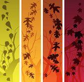 Autumn Banners - Vertical