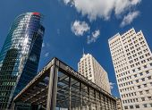 Berlin - August 24: The Potsdamer Platz On August 24, 2013 In Berlin, Germany. The Potsdamer Platz I