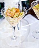 Shrimp Cocktail In A Buffet Aperitif