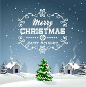 Christmas Background Greeting Card 04