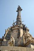 picture of christopher columbus  - Monument of Columbus Columbus - JPG
