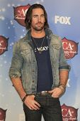 LAS VEGAS - DEC 10:  Jake Owen at the 2013 American Country Awards Press Room at Mandalay Bay Events Center on December 10, 2013 in Las Vegas, NV