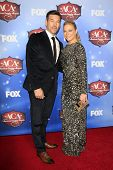 LAS VEGAS - DEC 10:  Eddie Cibrian, LeAnn Rimes at the 2013 American Country Awards at Mandalay Bay