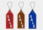 promotional sale labels set