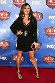 LAS VEGAS - DEC 10:  Sara Evans at the 2013 American Country Awards at Mandalay Bay Events Center on