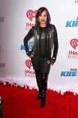 LOS ANGELES - DEC 6:  Cheryl Burke at the KIIS FM Jingle Ball 2013 at Staples Center on December 6, 2013 in Los Angeles, CA
