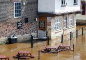 Rio Ouse inundações