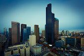 Seattle downtown  bird's-eye view, business america