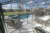 Pool, Spa und lanai