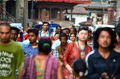 die Straßen von Kathmandu, nepal
