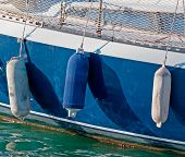 Three Boat Fenders